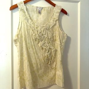 BANANA REPUBLIC FACTORY Silk Blend Sleeveless Top